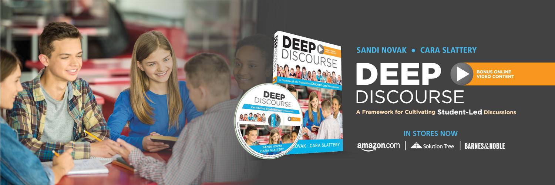 Buy Deep Discourse by Sandi Novak and Cara Slattery