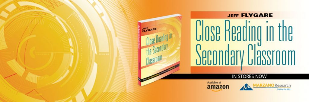 Buy Close reading in the Secondary Classroom by Jeff Flygare