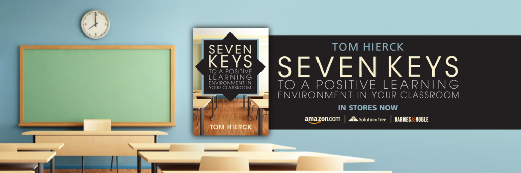 Seven Keys to a Positive Learning Environment in Your Classroom is available for purchase.