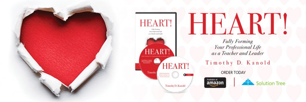 HEART! is available for purchase now on SolutionTree.com.