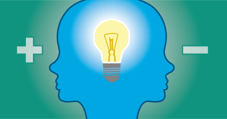 Positive or negative ideas