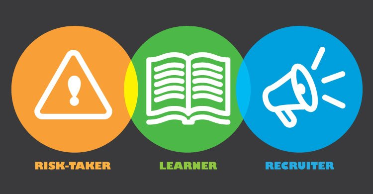 Edupreneurs are risk-takers, lifelong learners, and recruiters