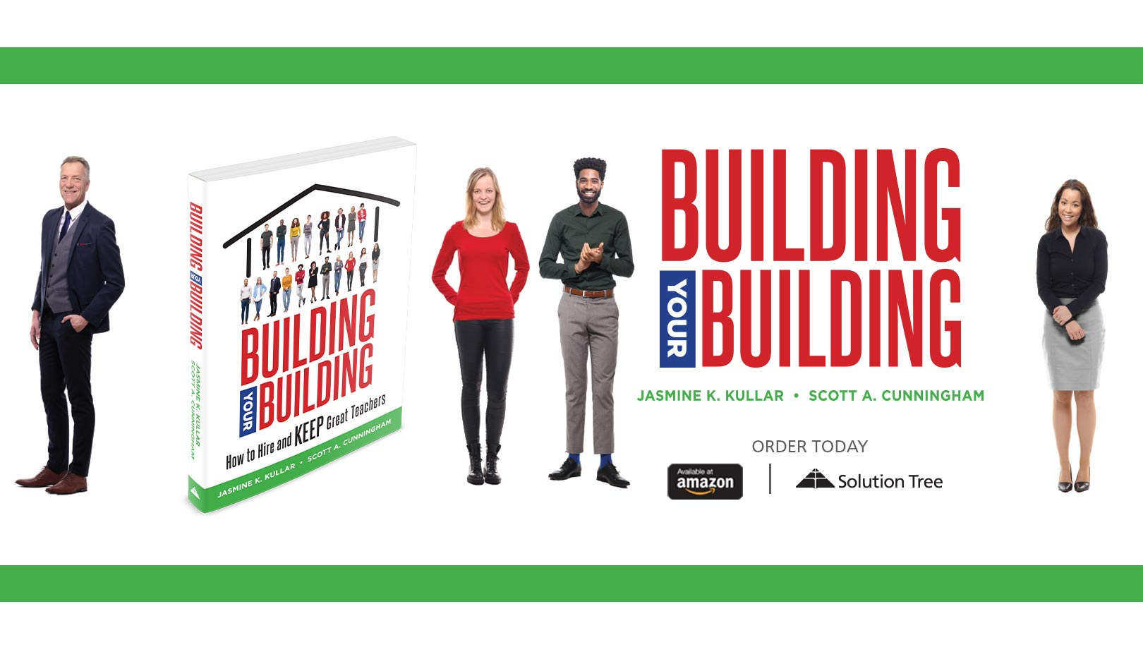 Building Your Building by Jasmine Kullar is available for purchase at Amazon and SolutionTree.com