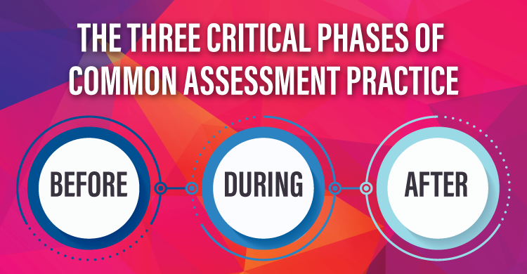 Three Critical Phases of Common Assessment Practice: Before, During, After