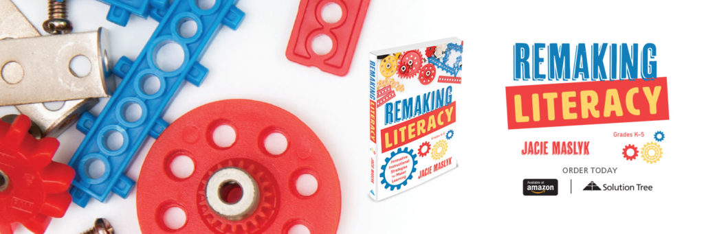 Remaking Literacy is available for purchase on Amazon or SolutionTree.com.