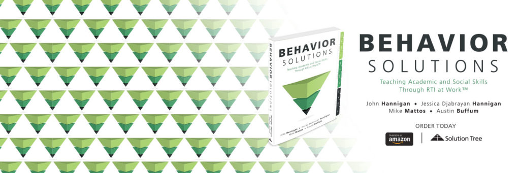 Behavior Solutions is available for purchase on Amazon and SolutionTree.com