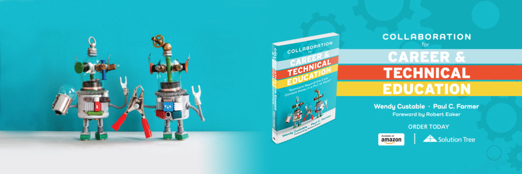 Collaboration for Career & Technical Education is available to purchase on Amazon or SolutionTree.com