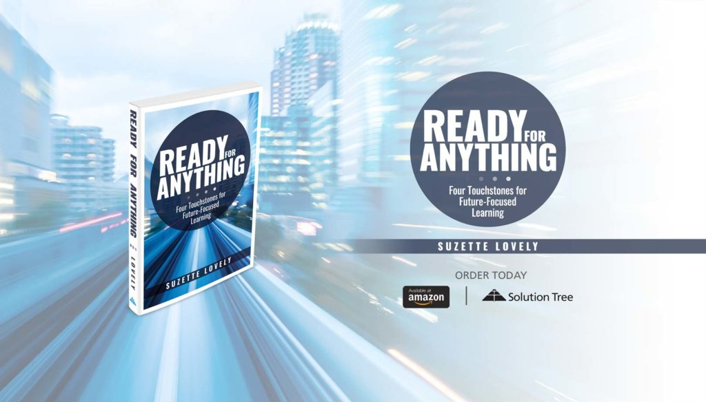 Ready for Anything is available for purchase now on Amazon and SolutionTree.com