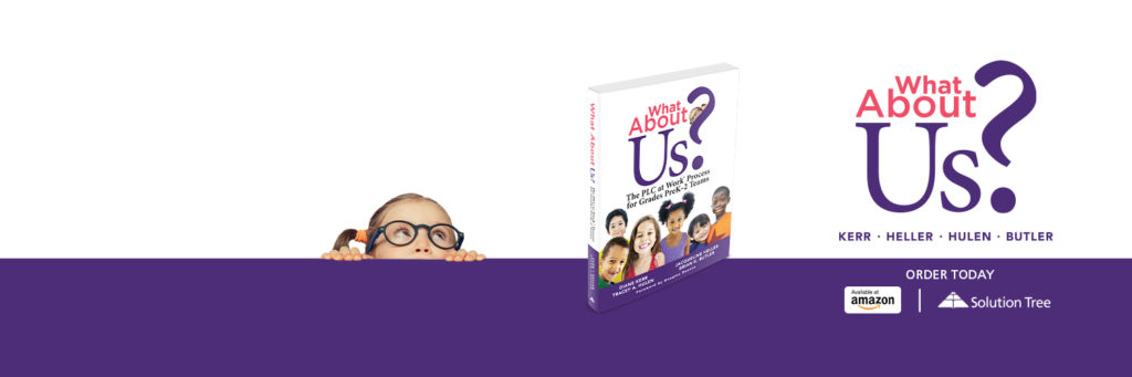 What About Us? is available now on Amazon and SolutionTree.com.