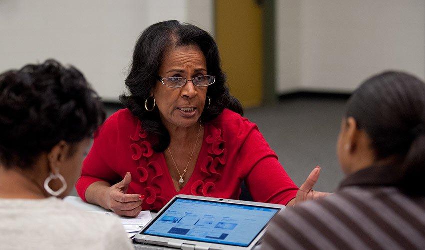 Assessment Center Professional Development for Teachers
