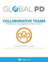 Collaborative Teams in a PLC at Work Facilitators Guide cover