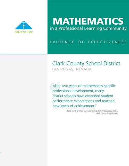 Math at Work Case Study: Clark County School District