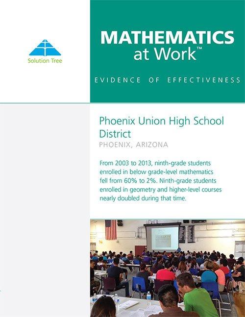 Math at Work Case Study: Phoenix Union High School District